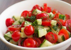 rau lam salad ngon
