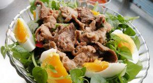 salad rau cang cua rau lam salad ngon