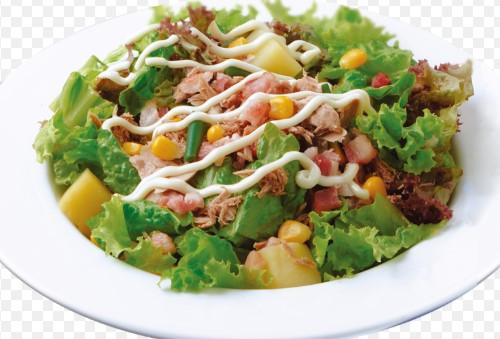 salad trộn sốt cà chua