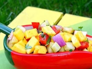 cach lam salad thit bo