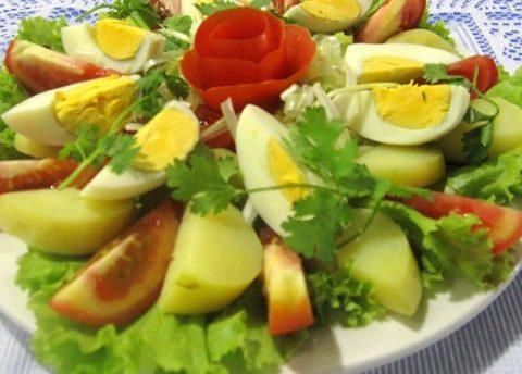 Ẩm thực Việt với các món ăn ngon từ rau xà lách giúp thanh nhiệt cơ thể