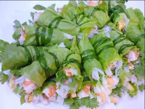 salad non tom cuon rau xa lach my