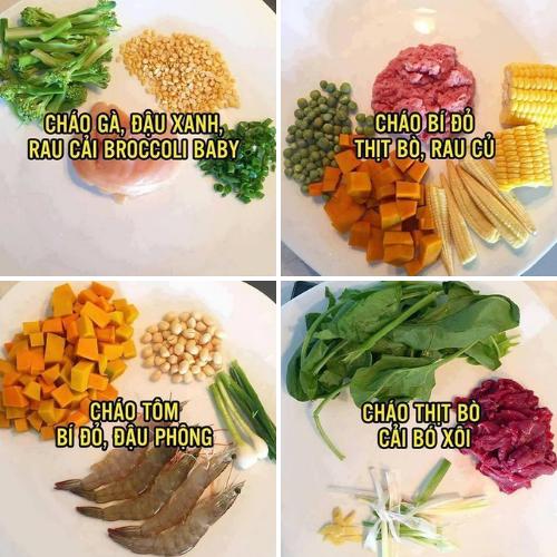 12 công thức chế biến bột ăn dặm giúp bé tăng cân vù vù, lớn nhanh như thôi
