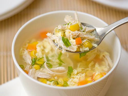 mon sup cho nguoi nieng rang