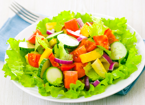 salad rau giam can