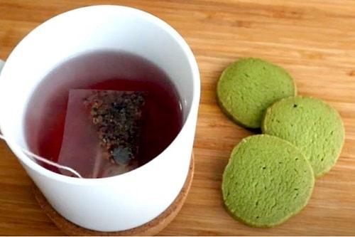 cách làm bánh quy trà xanh