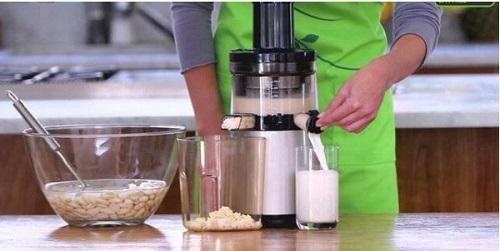 cachs làm sữa hạt không cần máy
