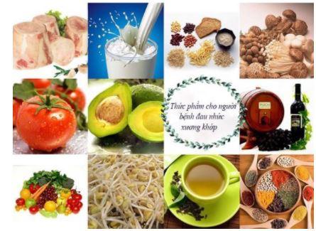 Nên ăn gì và không nên ăn gì để cải thiện bệnh xương khớp ?