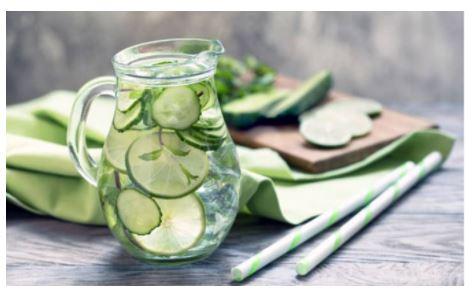 Nước detox giúp đẹp da, giải độc, thanh lọc cơ thể hiệu quả